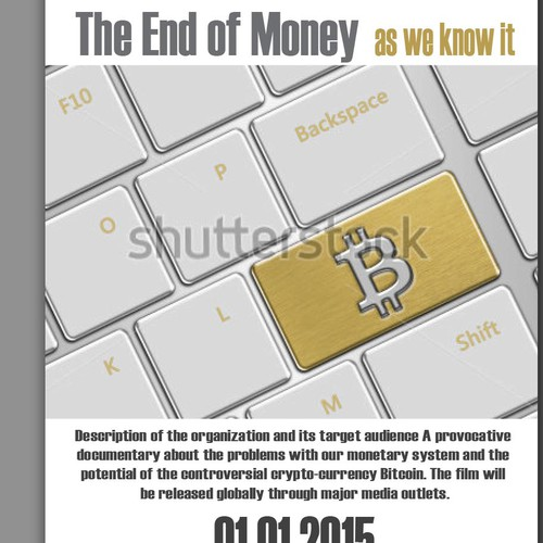 Poster Design for International Documentary about Bitcoin