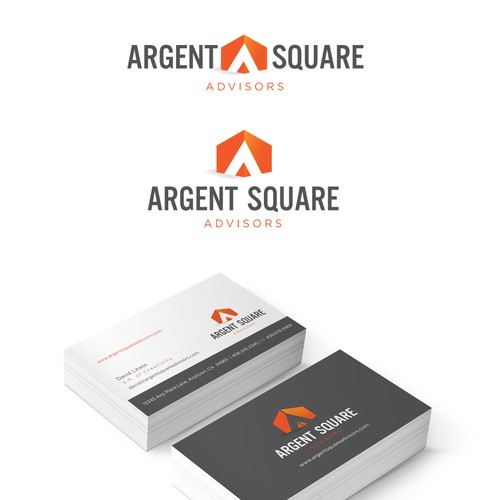 Argent Square Advisors needs a new logo and business card