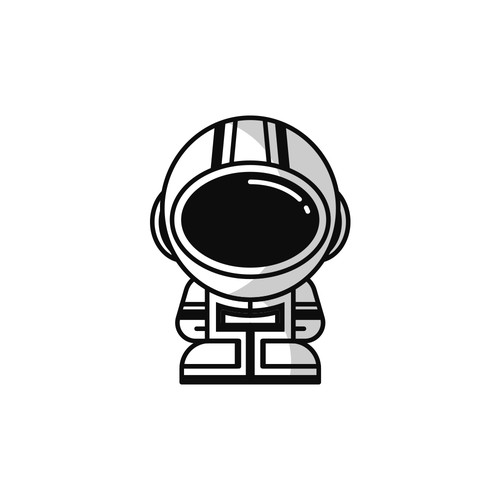 Astronaut Mascot Design