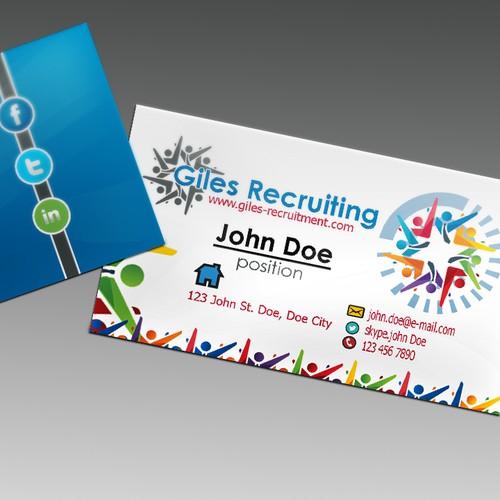 Create a modern, professional design to match my business logo.