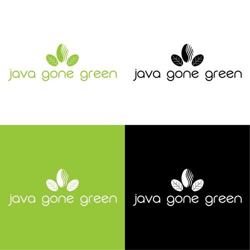 Java Gone Green Logo