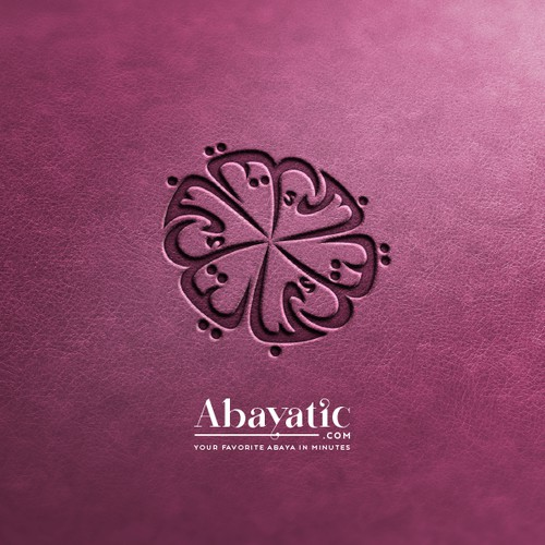 Luxurious logo for Abayatic.com