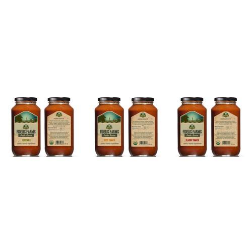 Design product labels for Fidelis Farms