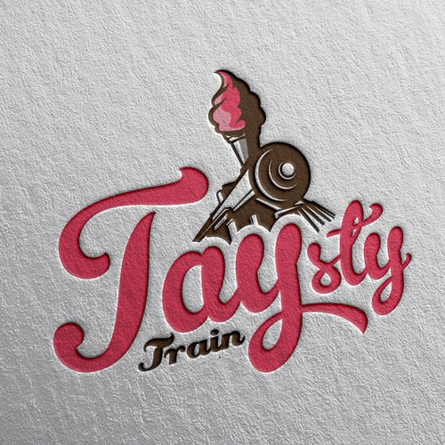 Logo concept for Taysty Train.