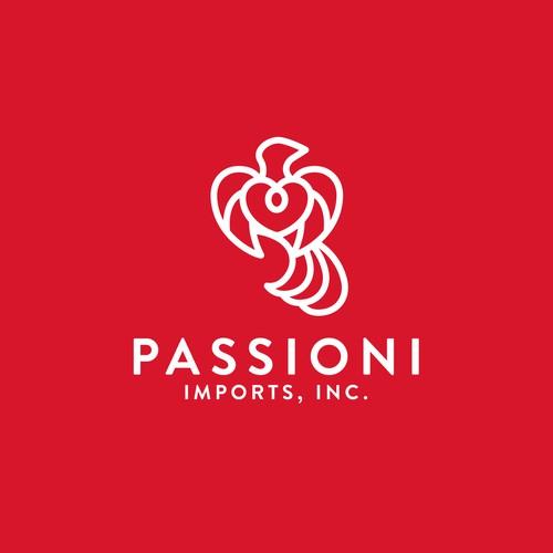 Logo Design for Passioni Imports Inc