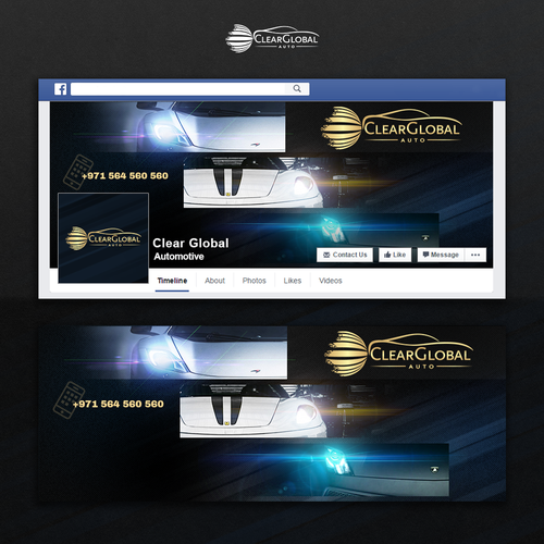 Facebook cover for ClearGlobal
