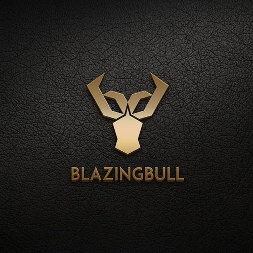 Blazing Bull Logo - Innovate Premium Grill Manufacturer - Modern. Masculine.