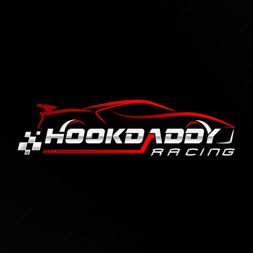 Creative logo for Hookdaddy Racing