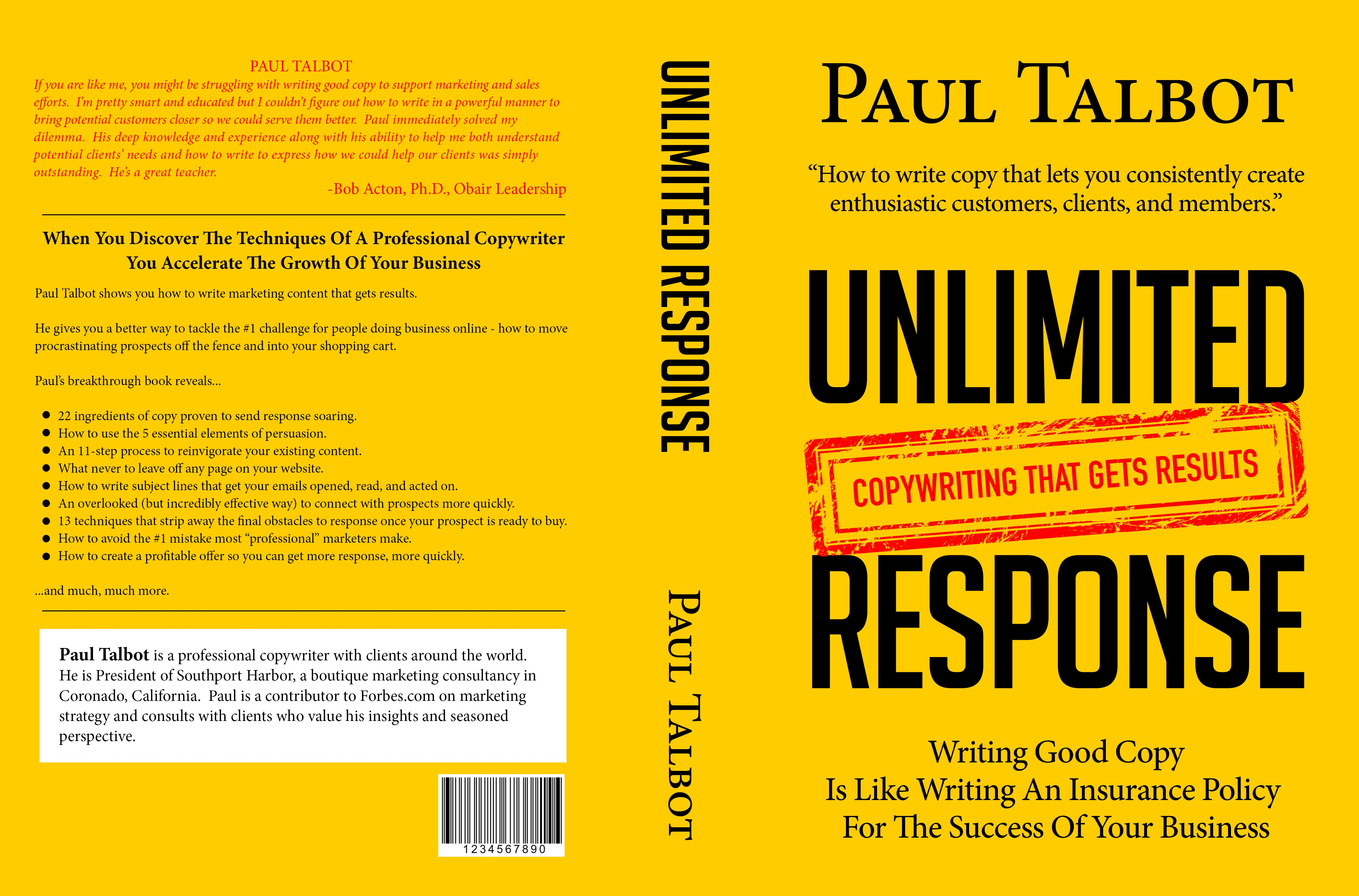 Unlimited Response Book Cover