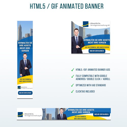 Financial advising company Banners