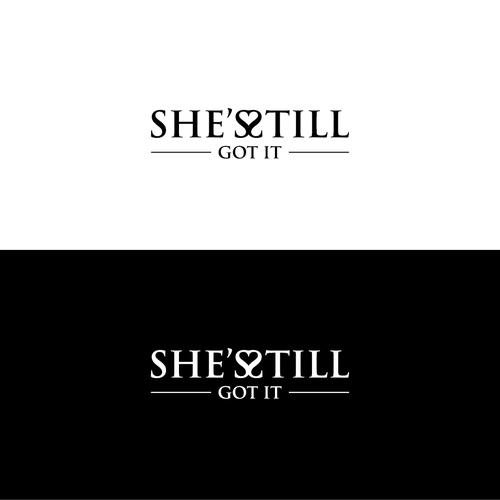 Bold Logo Concept for She's Still Got It