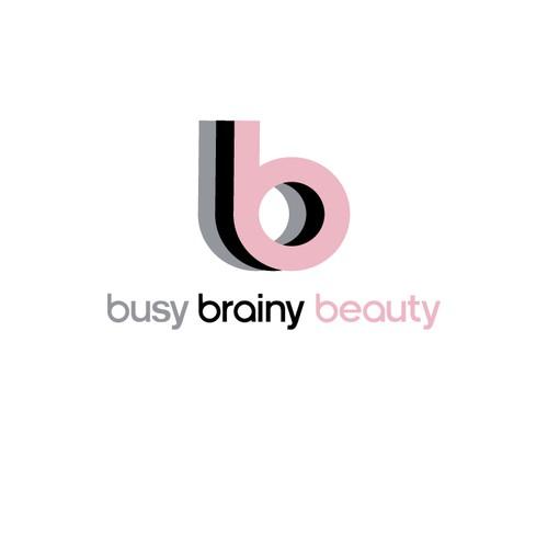 Design a sleek modern logo for a forward thinking beauty and wellness blog