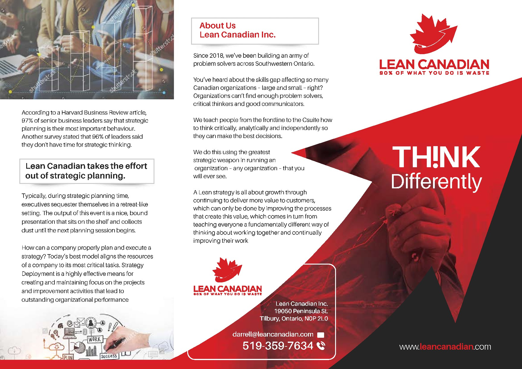 Brochure for Consulting Company