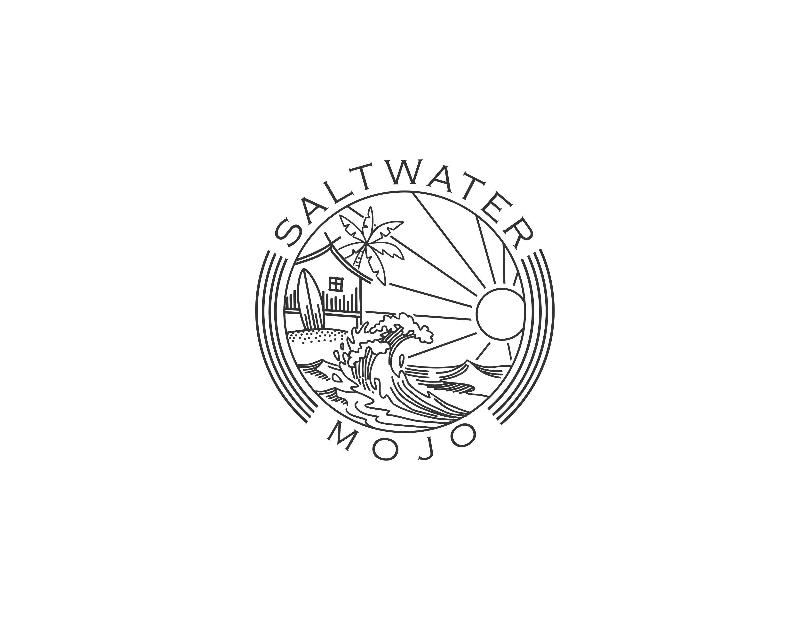 Design for sun & fun beach t-shirts and apparel (Company Logo)