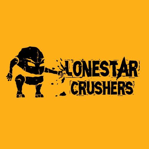 Rock crushing company logo design