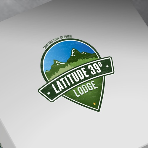 Logo for a beautiful Lake Tahoe vacation rental