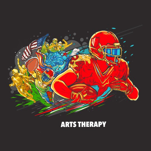 Wall painting/ Art therapy