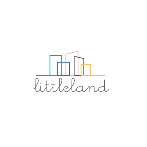 Creative logo for the unique child space.