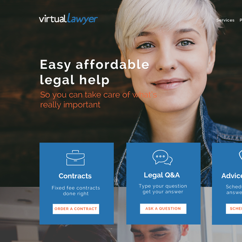 Lawyer Site Service