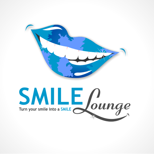 Create an exciting logo for ***SMILE LOUNGE*** a cosmetic teeth whitening concept