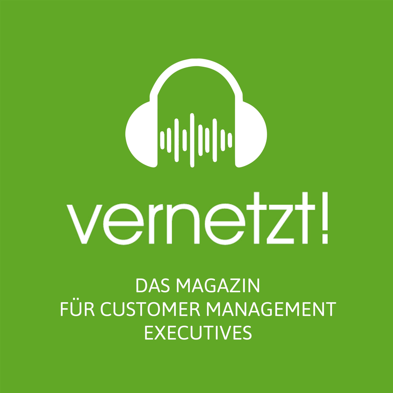 Audio/Podcast Logo für Kundenmagazin vernetzt!