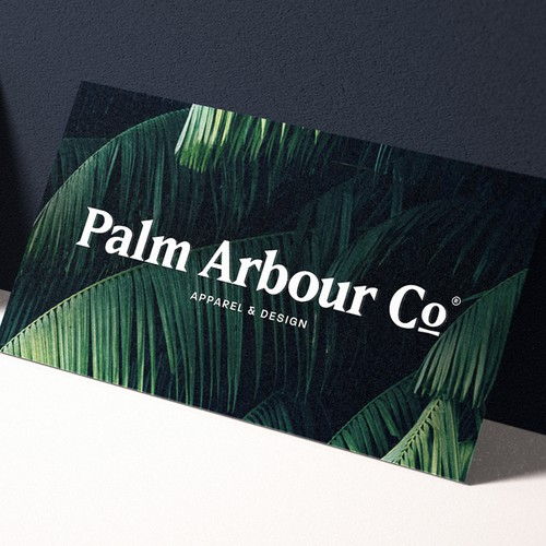 Palm Arbour Co. Logo Design