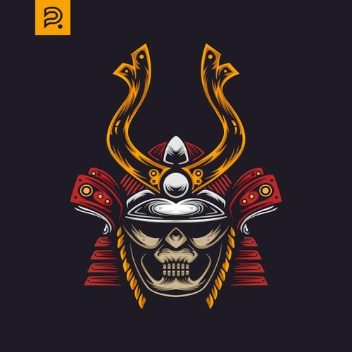 For Sale T-Shirt Samurai Design