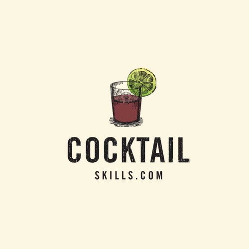 Logo for a Bar offering a wide range of cocktails and shots