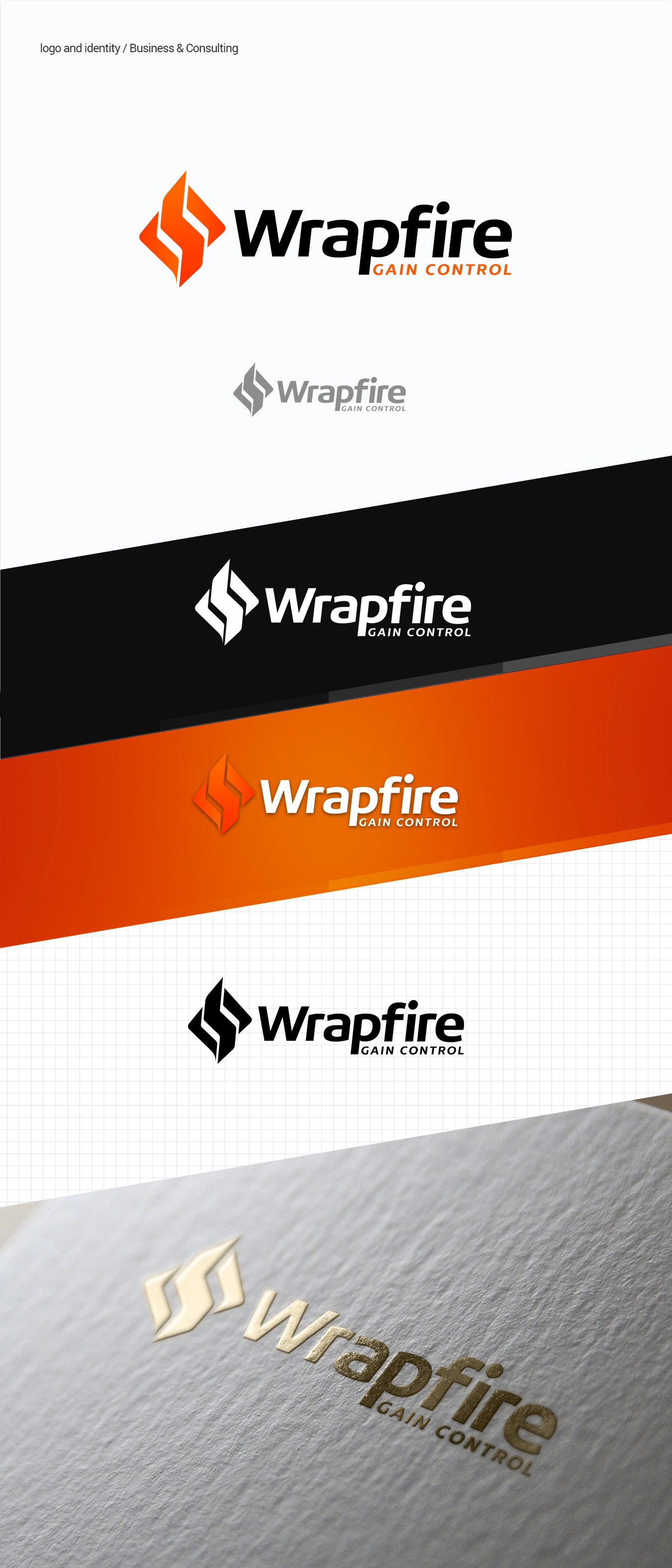 """Create a logo for a technology product """"Wrapfire"""""""