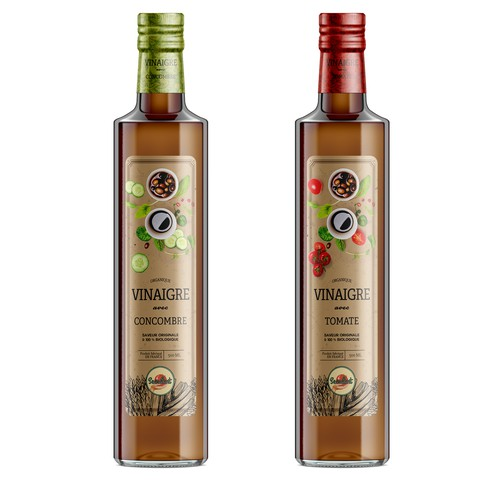 Vinegar Label Design