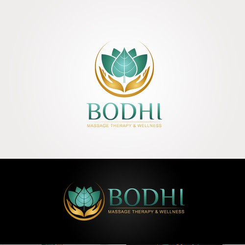 Logo concept for Bodhi Massage Theraphy & Wellness