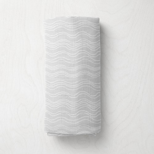 Unisex  abstract baby swaddle pattern