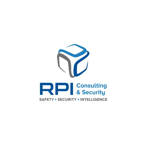 RPI Consulting and Security logo design