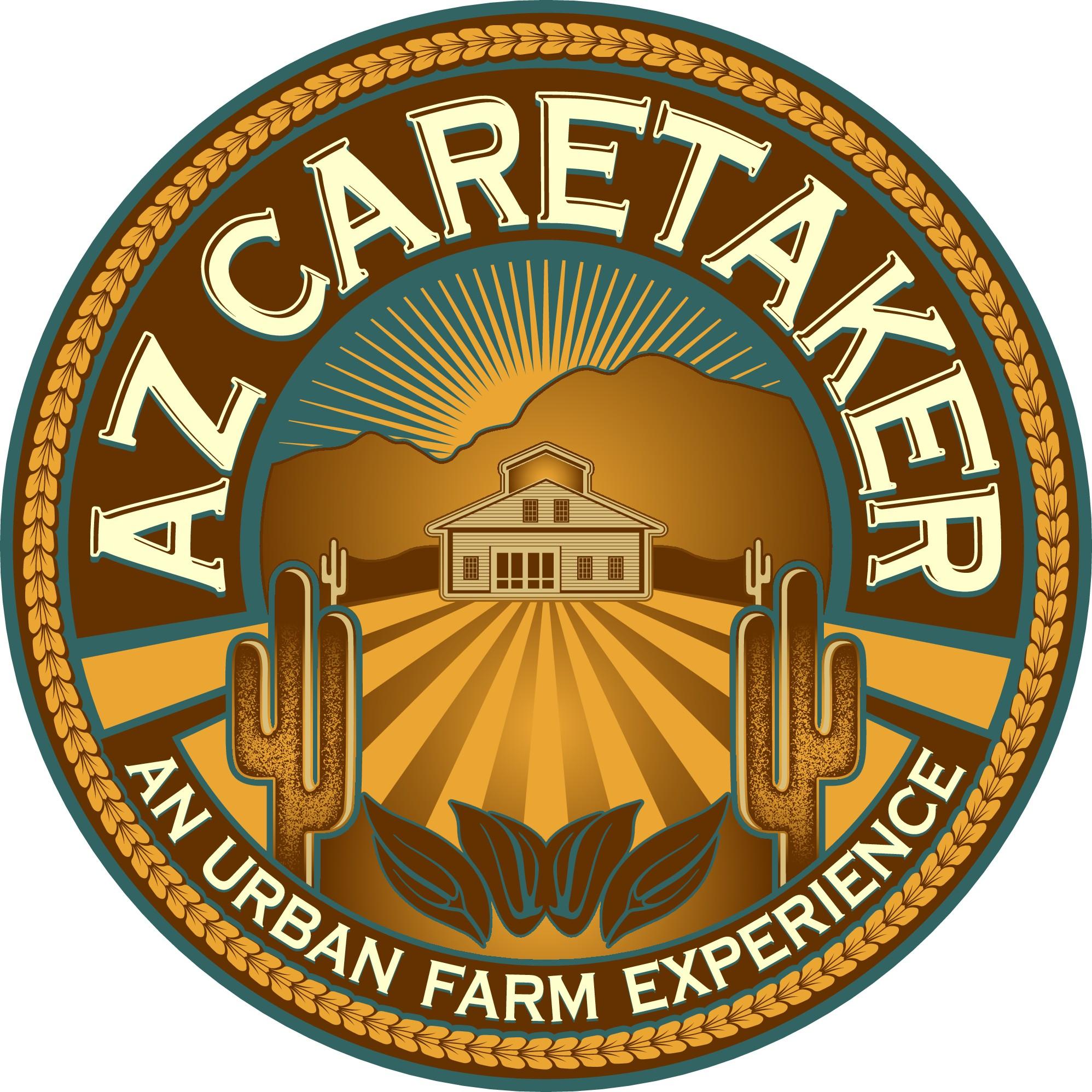 Create an inspirational logo/social media for an urban farm in the Sonoran desert (Arizona)