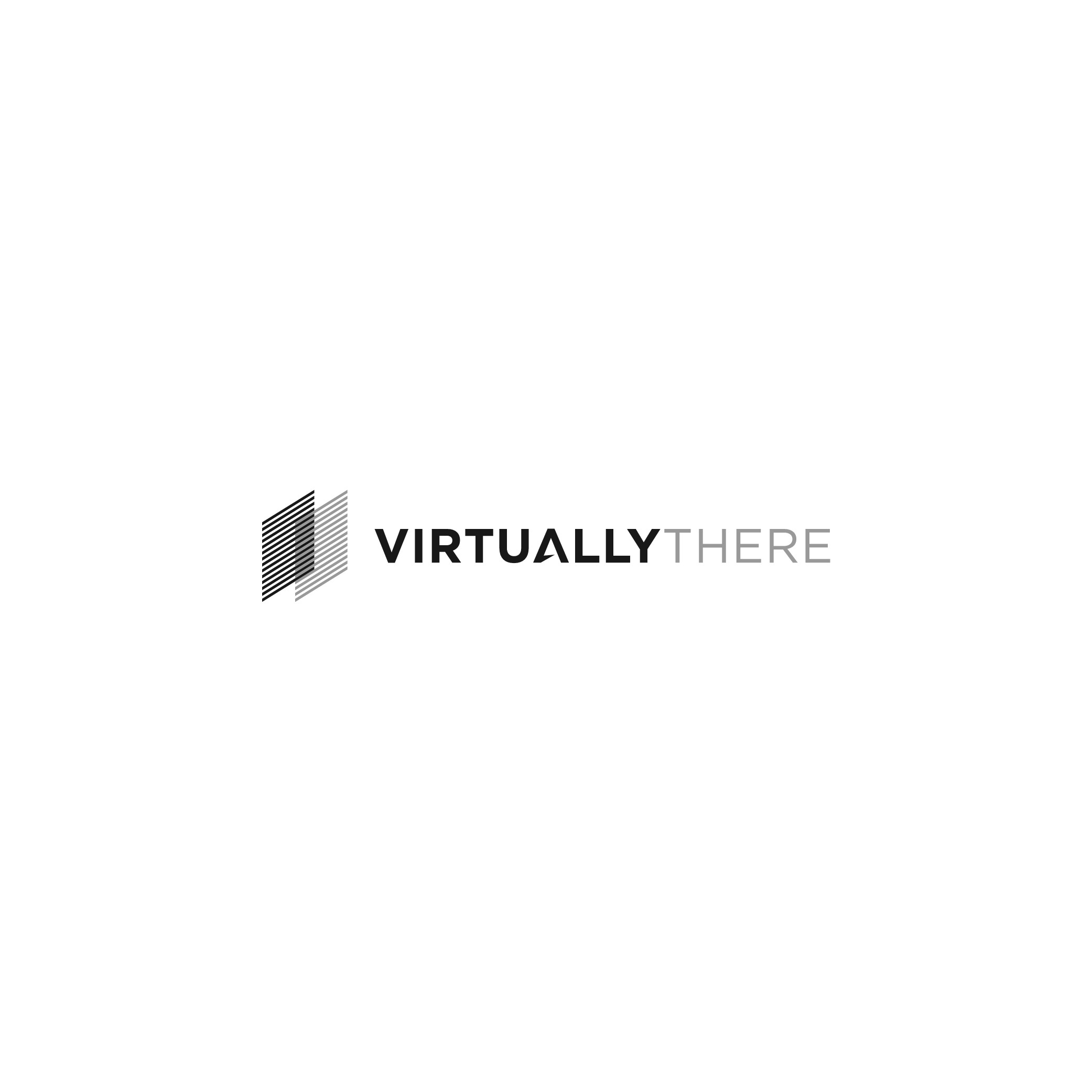 Professional logo for VR Startup VirtuallyThere