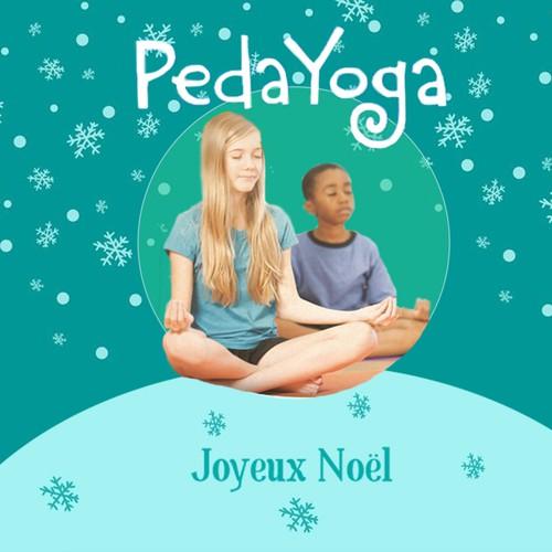 Web Banner for Christmas-themed Children's Yoga