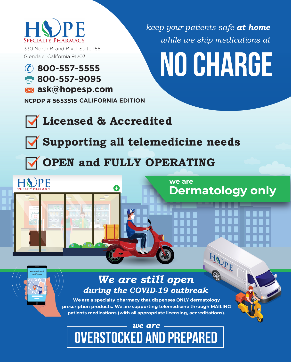 Pharmacy Services for Telemedicine