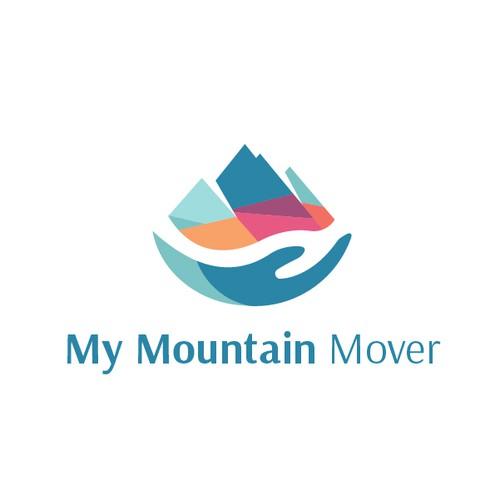 Logo concept for My Mountain Mover