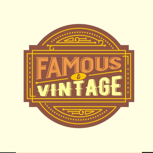 Sophisticated Vintage Logo for a Company in Entertainment & Arts Business