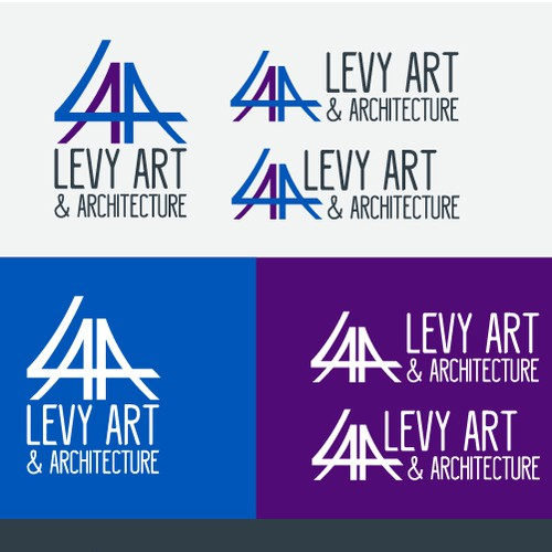LEVY A & A LOGO MODEL DESIGN