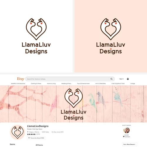 Etsy online store logo and banner design