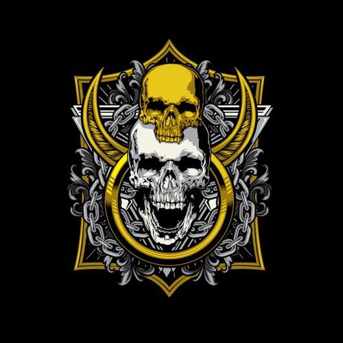 skull tees
