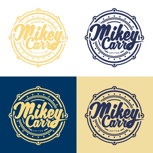 Mikey Carr Badge Logo