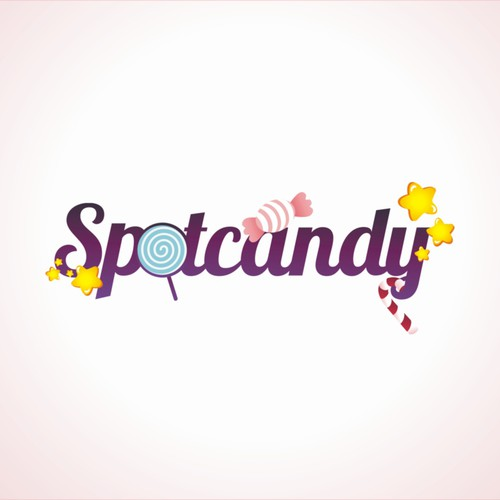 Luxurious logo for Spotcandy