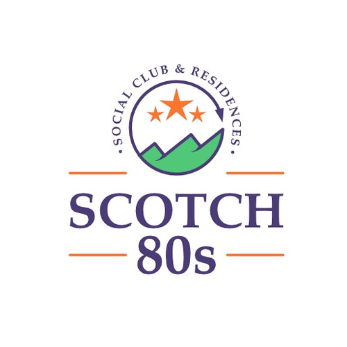Bold logo for a high-end Social Club