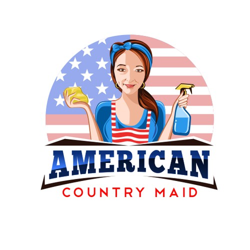 American Country Maid