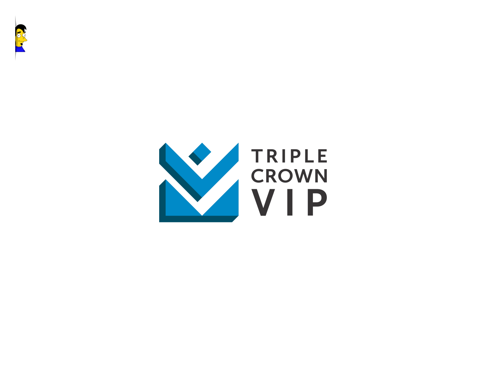 "Create ""Triple Crown VIP"" Logo Reconizing VIP trade show attendees who have reach this level"