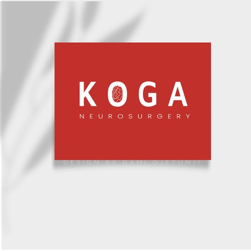 Modern Logo For Neurosurgery practice inspired by ancient Japanese Seal