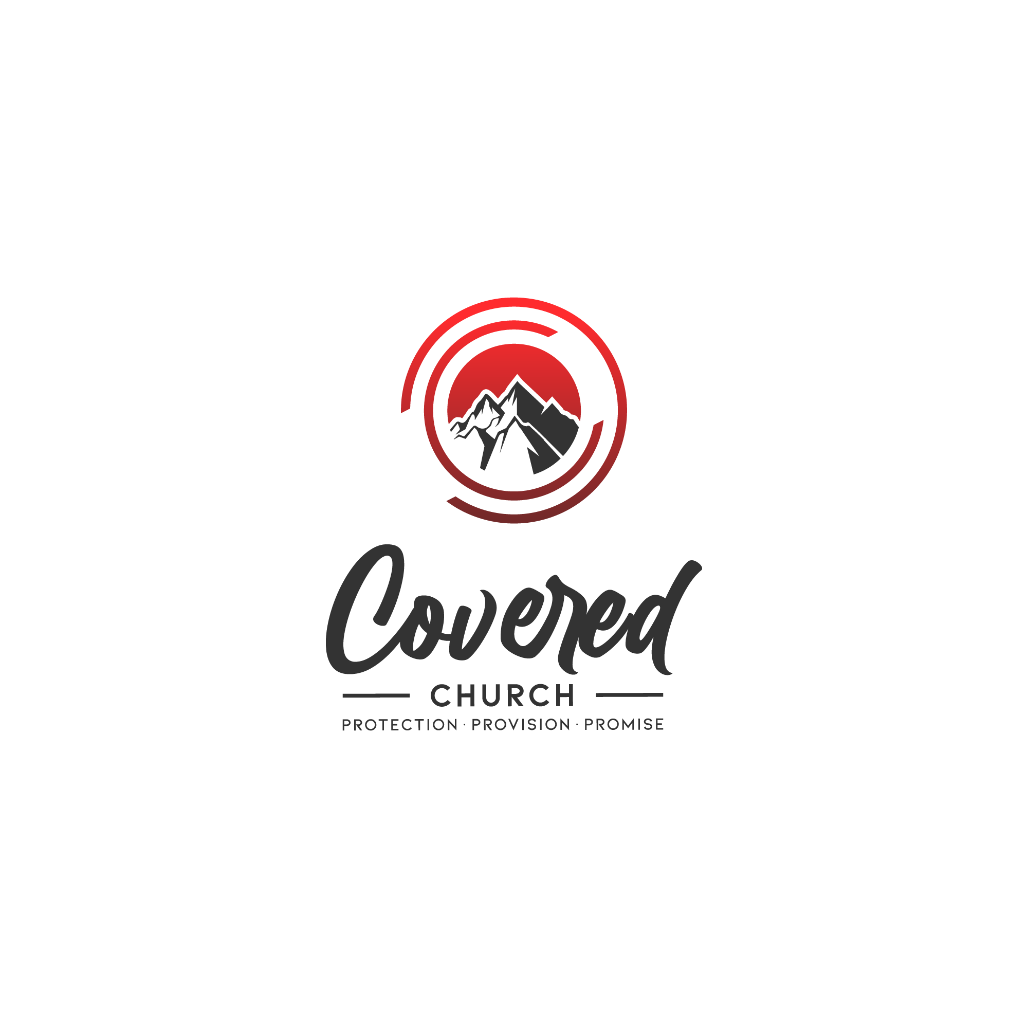 Revision to Covered Church logo