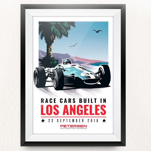 Racing Poster Design Concept